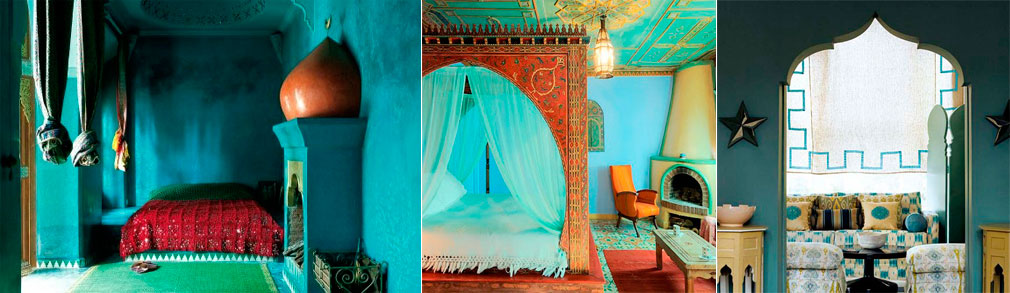 Moroccan-interior-in-blue-turquoise