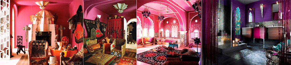 Moroccan-interior-in-pink-and-purple-colors-colors